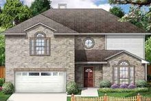 Home Plan - Traditional Exterior - Front Elevation Plan #84-187