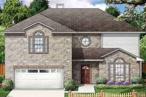 Traditional Exterior - Front Elevation Plan #84-187