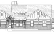 Ranch Style House Plan - 3 Beds 2 Baths 2316 Sq/Ft Plan #932-353 Exterior - Front Elevation