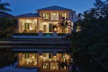 House Design - Contemporary Exterior - Rear Elevation Plan #930-20