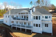 Dream House Plan - Craftsman Exterior - Rear Elevation Plan #437-96