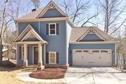 Craftsman Style House Plan - 2 Beds 2.5 Baths 1959 Sq/Ft Plan #437-91 Exterior - Front Elevation