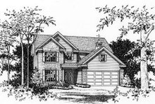 House Plan Design - Traditional Exterior - Other Elevation Plan #22-463