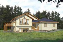 Traditional Exterior - Front Elevation Plan #117-293