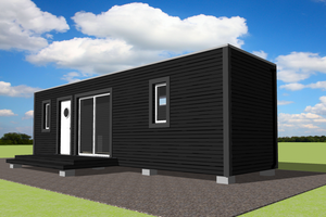 Modern Exterior - Front Elevation Plan #549-20