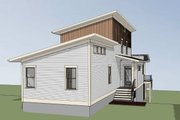 Modern Style House Plan - 3 Beds 2.5 Baths 1618 Sq/Ft Plan #79-323