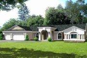 Adobe / Southwestern Style House Plan - 3 Beds 2.5 Baths 2747 Sq/Ft Plan #1-670