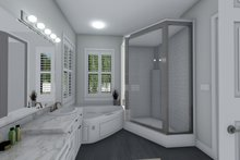House Design - Ranch Interior - Master Bathroom Plan #1060-99