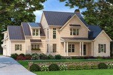 Dream House Plan - Farmhouse Exterior - Front Elevation Plan #927-996