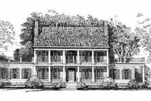 Home Plan - Colonial Exterior - Front Elevation Plan #72-380