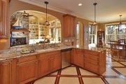 European Style House Plan - 4 Beds 3.5 Baths 2673 Sq/Ft Plan #929-21 Interior - Kitchen