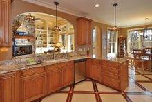 Dream House Plan - European Interior - Kitchen Plan #929-21
