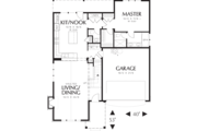 Traditional Style House Plan - 3 Beds 2.5 Baths 1761 Sq/Ft Plan #48-568 Floor Plan - Main Floor Plan