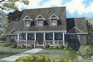 Farmhouse Exterior - Front Elevation Plan #17-2341