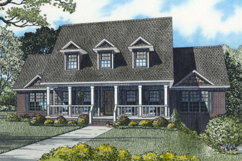 Farmhouse Style House Plan - 4 Beds 2 Baths 3706 Sq/Ft Plan #17-2341