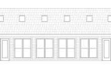 Dream House Plan - Southern Exterior - Other Elevation Plan #932-332