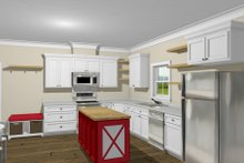 Home Plan - Traditional Interior - Kitchen Plan #44-230