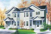 Traditional Style House Plan - 3 Beds 1.5 Baths 2172 Sq/Ft Plan #23-2049 Exterior - Front Elevation