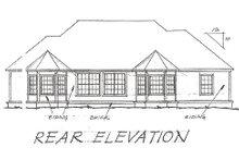 Traditional Exterior - Rear Elevation Plan #20-115