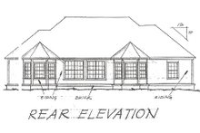 Traditional Exterior - Rear Elevation Plan #20-115