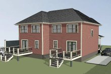 House Plan Design - Traditional Exterior - Other Elevation Plan #79-239