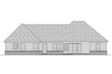 Ranch Exterior - Rear Elevation Plan #21-240