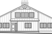 Craftsman Style House Plan - 3 Beds 2.5 Baths 2425 Sq/Ft Plan #1073-18 Exterior - Front Elevation
