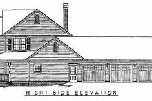 Country Exterior - Other Elevation Plan #11-121