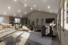 Architectural House Design - Traditional Interior - Family Room Plan #1060-95