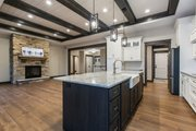 Ranch Style House Plan - 4 Beds 3 Baths 2191 Sq/Ft Plan #70-1498 Interior - Kitchen