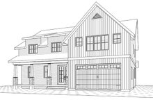 Farmhouse Exterior - Front Elevation Plan #23-2686