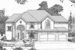 Traditional Exterior - Front Elevation Plan #6-141