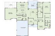 European Style House Plan - 3 Beds 2.5 Baths 3542 Sq/Ft Plan #17-2532 Floor Plan - Main Floor Plan