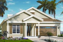 Traditional Exterior - Front Elevation Plan #23-2207