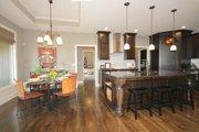 Mediterranean Style House Plan - 3 Beds 2 Baths 1720 Sq/Ft Plan #20-2174 Interior - Kitchen