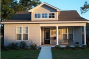 Bungalow Style House Plan - 2 Beds 2 Baths 1367 Sq/Ft Plan #63-249 Exterior - Front Elevation