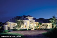 Home Plan - Mediterranean Exterior - Front Elevation Plan #930-190