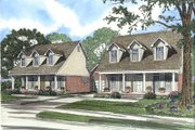 Country Style House Plan - 3 Beds 2.5 Baths 3082 Sq/Ft Plan #17-2023 Exterior - Front Elevation