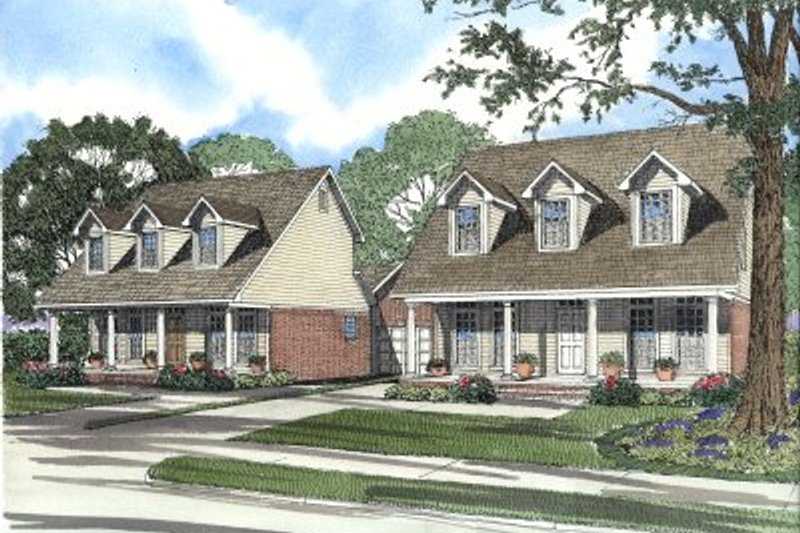 Country Style House Plan - 3 Beds 2.5 Baths 3082 Sq/Ft Plan #17-2023