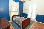 Mediterranean Style House Plan - 3 Beds 3 Baths 2238 Sq/Ft Plan #80-151 Interior - Bedroom