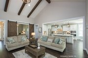 Craftsman Style House Plan - 4 Beds 3 Baths 2491 Sq/Ft Plan #929-949 Interior - Family Room