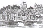 European Style House Plan - 5 Beds 4.5 Baths 5084 Sq/Ft Plan #141-239