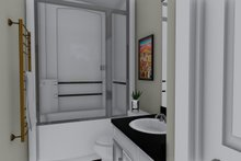 Architectural House Design - Ranch Interior - Bathroom Plan #1060-2