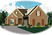 Traditional Style House Plan - 3 Beds 2.5 Baths 2555 Sq/Ft Plan #81-13898 Exterior - Front Elevation