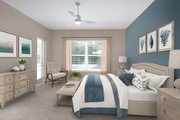 Contemporary Style House Plan - 4 Beds 4 Baths 3582 Sq/Ft Plan #938-92 Interior - Master Bedroom