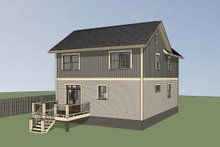 Dream House Plan - Craftsman Exterior - Other Elevation Plan #79-299