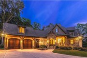 Craftsman Style House Plan - 4 Beds 3.5 Baths 2482 Sq/Ft Plan #120-184 Exterior - Front Elevation