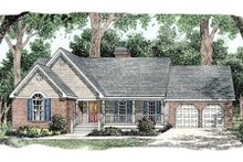 House Design - Country Exterior - Front Elevation Plan #406-159