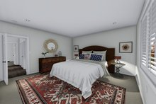 Home Plan - Ranch Interior - Master Bedroom Plan #1060-41