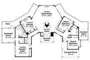 Ranch Style House Plan - 3 Beds 2 Baths 2177 Sq/Ft Plan #124-910 Floor Plan - Main Floor Plan